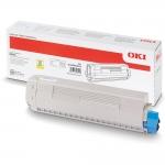 Žltý toner pre OKI MC873/MC883