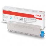 Cyan toner pre OKI MC873/MC883
